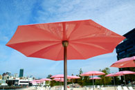 City of Toronto - Sugar Beach, Umbrellas